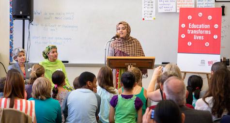 Kampen för flickors utbildning